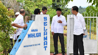 Kunjungan Jokowi ke Makam Mahligai