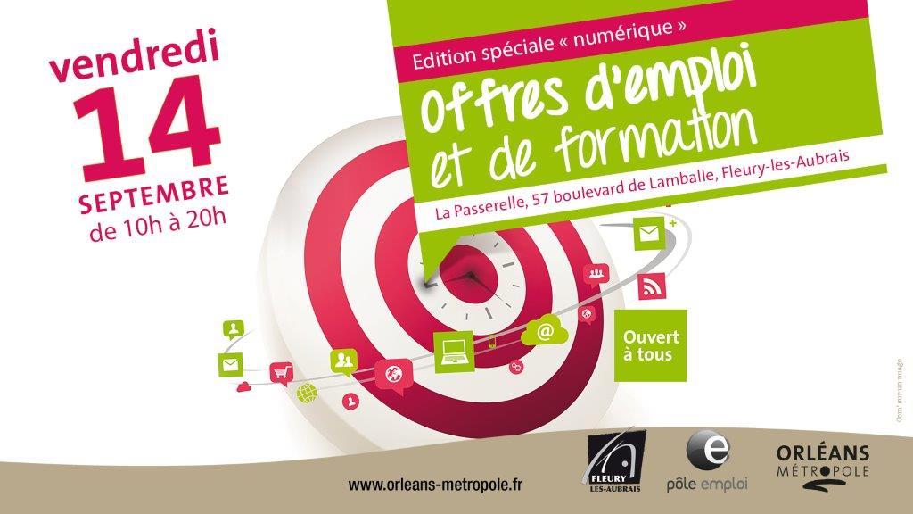 0db99469e73 3ème Édition des Rendez-vous pour l emploi «Fleury numérique»