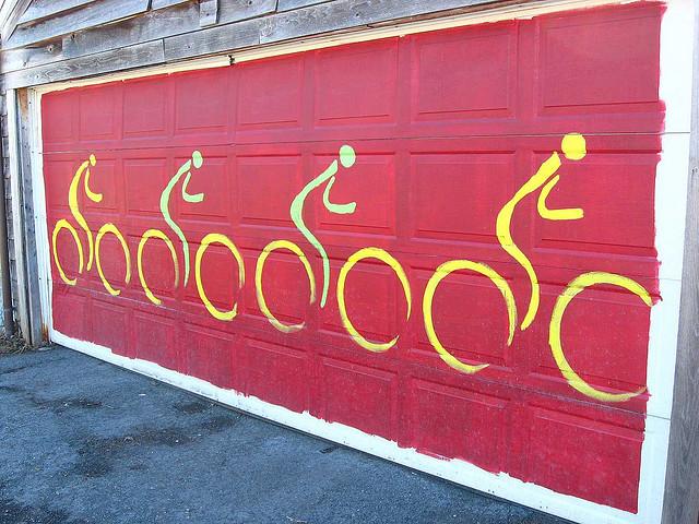 Decorating Diva Tips: Paint A Mural on Your Garage Door ... on Garage Door Painting Ideas  id=55490