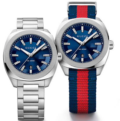 a2053db75a7 Gucci is introducing the GG2570 collection comprised of a selection of  watches for men and women