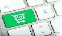 keyboard with shopping cart image