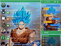 BBM Mod Tema Dragon Ball V3.0.1.25 Apk | Delta BBM 3.7.0 terbaru