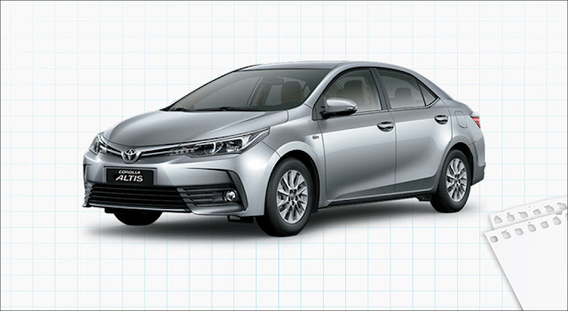 Đánh giá xe Toyota Corolla Altis 1.8E CVT 2019