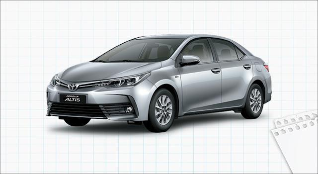 Giá xe Toyota Corolla Altis 1.8E CVT 2019