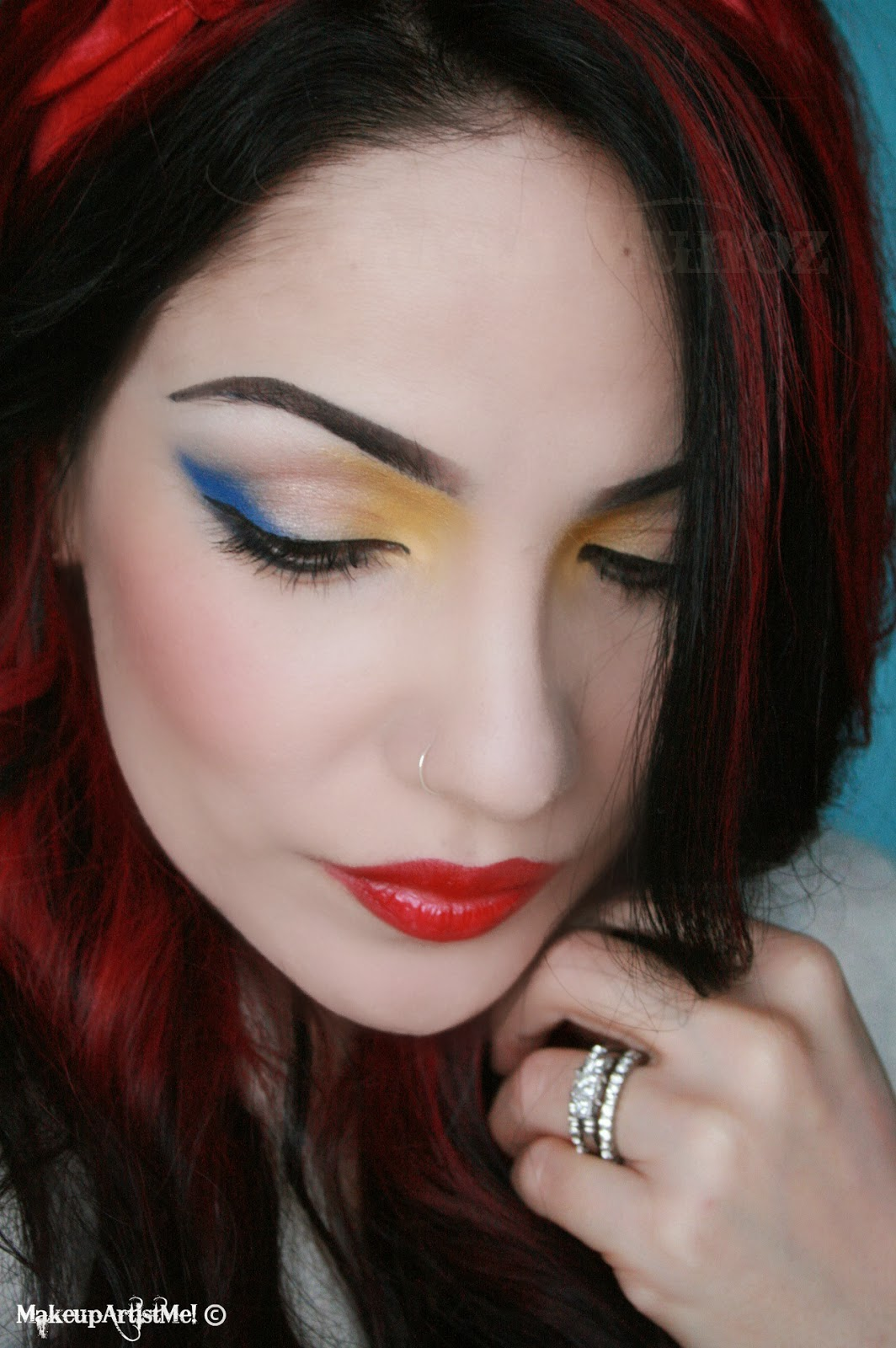 Make Up Lesson For Beginners: Make-up Artist Me!: Like Snow White -- A Snow White
