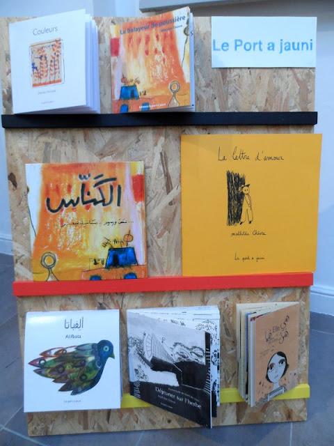 Livres des éditions Le Port a jauni (Marseille)