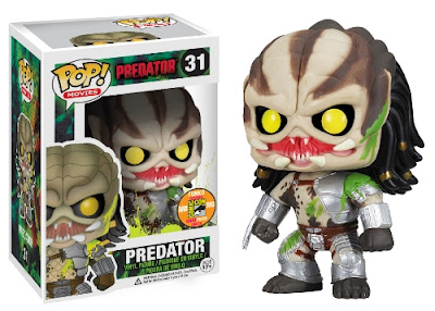 San Diego Comic-Con 2013 Exclusive Blood Splattered Predator Pop! Vinyl Figure by Funko