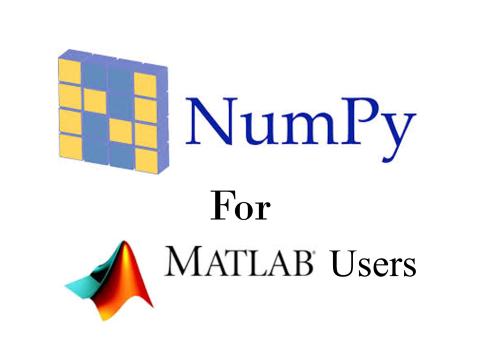 MatlabOctaveユーザーのためのPython NumPyライブラリ(1)