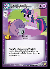 My Little Pony Twilight Sparkle, Cutie Mark Consultant Equestrian Odysseys CCG Card