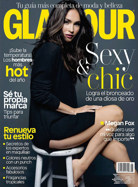 Actress, Model, @ Megan Fox - Glamour Latin America Magazine, Juny 2016
