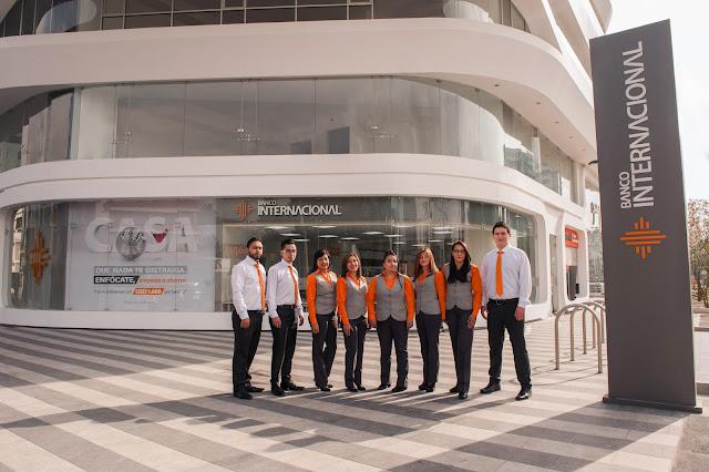 Banco Internacional con nueva agencia en el sector parque La Carolina