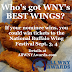 Best Wings nominations end at 11:59 p.m.