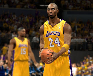 L.A. Lakers Yellow Home Jersey Mod for NBA 2K13
