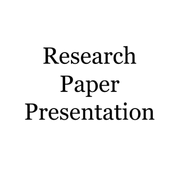 How to deliver your research paper?