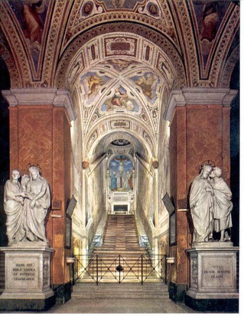 Η Αγία Σκάλα της Ρώμης.