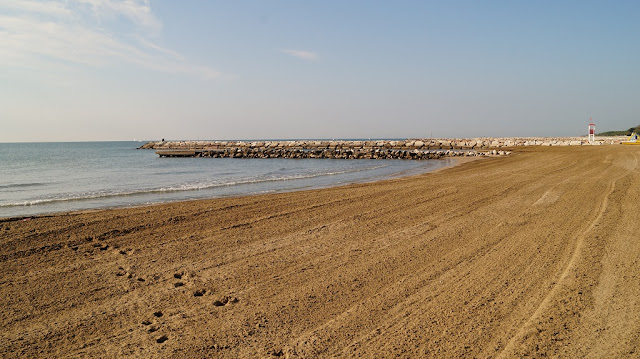 włochy plaża