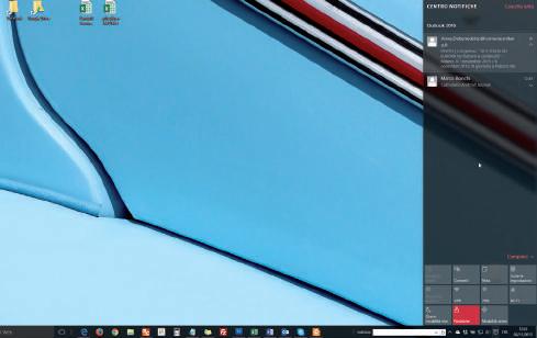 Il Centro notifiche barra applicazioni windows 10
