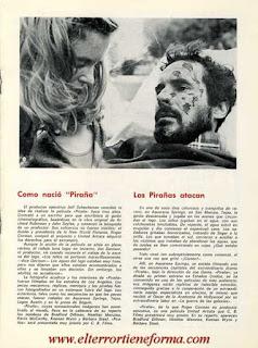 Guía Publicitaria de Cb Films de la película 'Piraña' Pag. 4