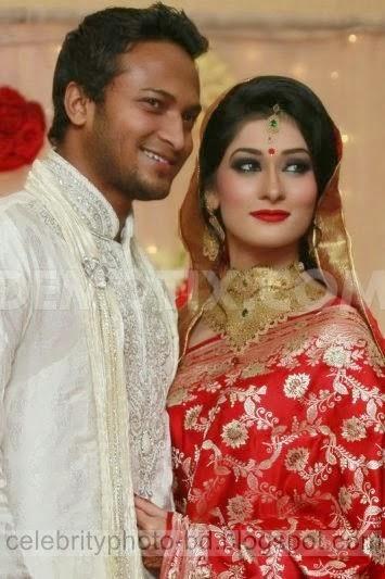 Cricketer Sakib Al Hasan hot wife Umme Ahmed Shishir Rare Unseen Hot Photos 2014-2015