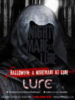 Nightmare At Lure Hollywood Halloween