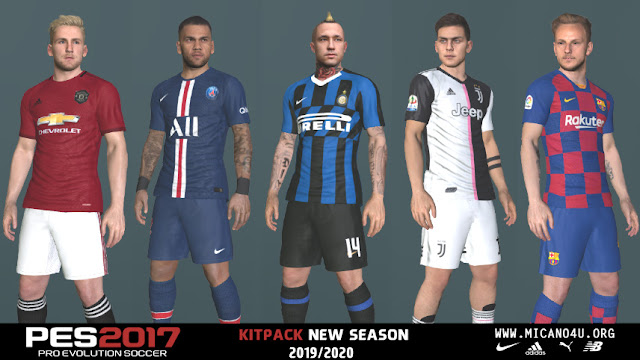PES 2017 Kitpack New Season 2019/2020 v1.0