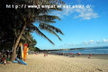 Tempat Wisata Di Bali Pantai Kuta ( Info Lokasi Dan Peta )