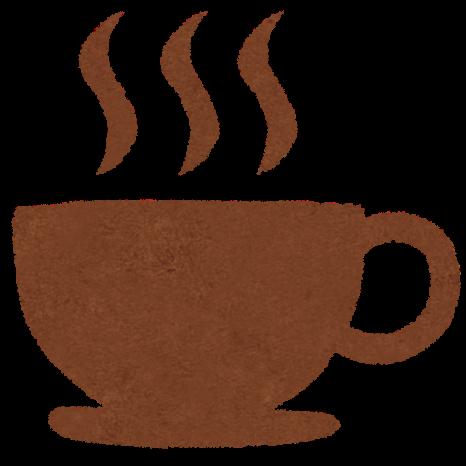 カフェコーヒーのマークのイラスト かわいいフリー素材集 いらすとや
