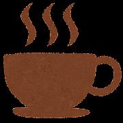 カフェ・コーヒーのマークのイラスト