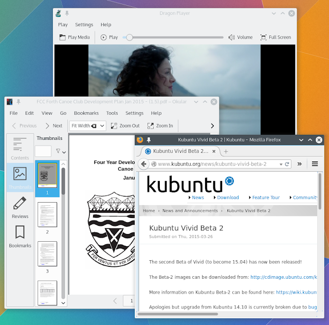 Softwares do KDE Applications 15.04.1