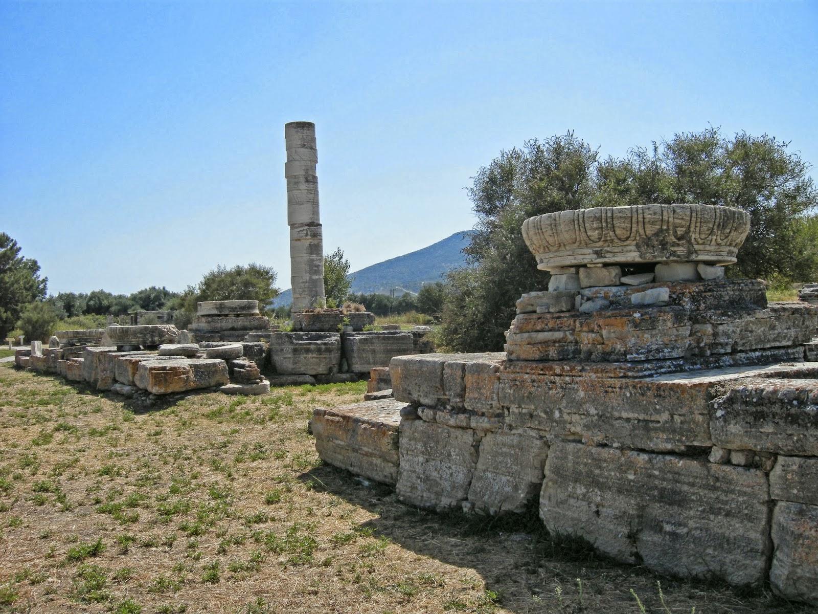 Bike Classical Samos Heraion Sanctuary