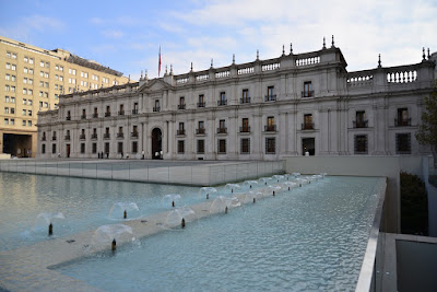 """La Moneda"", Chile's Presidential Palace."