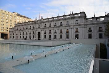 """La Moneda"", Chile's Presidential Palace."