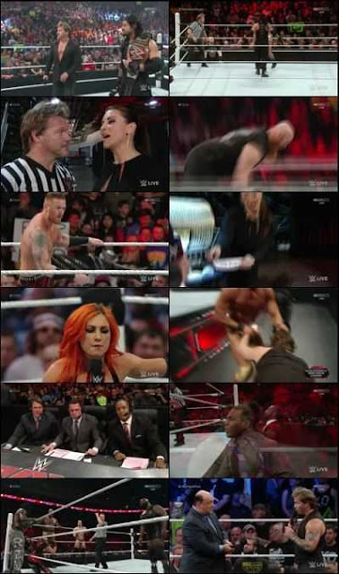WWE Monday Night RAW 18 JAN 2016 HDTV 500MB