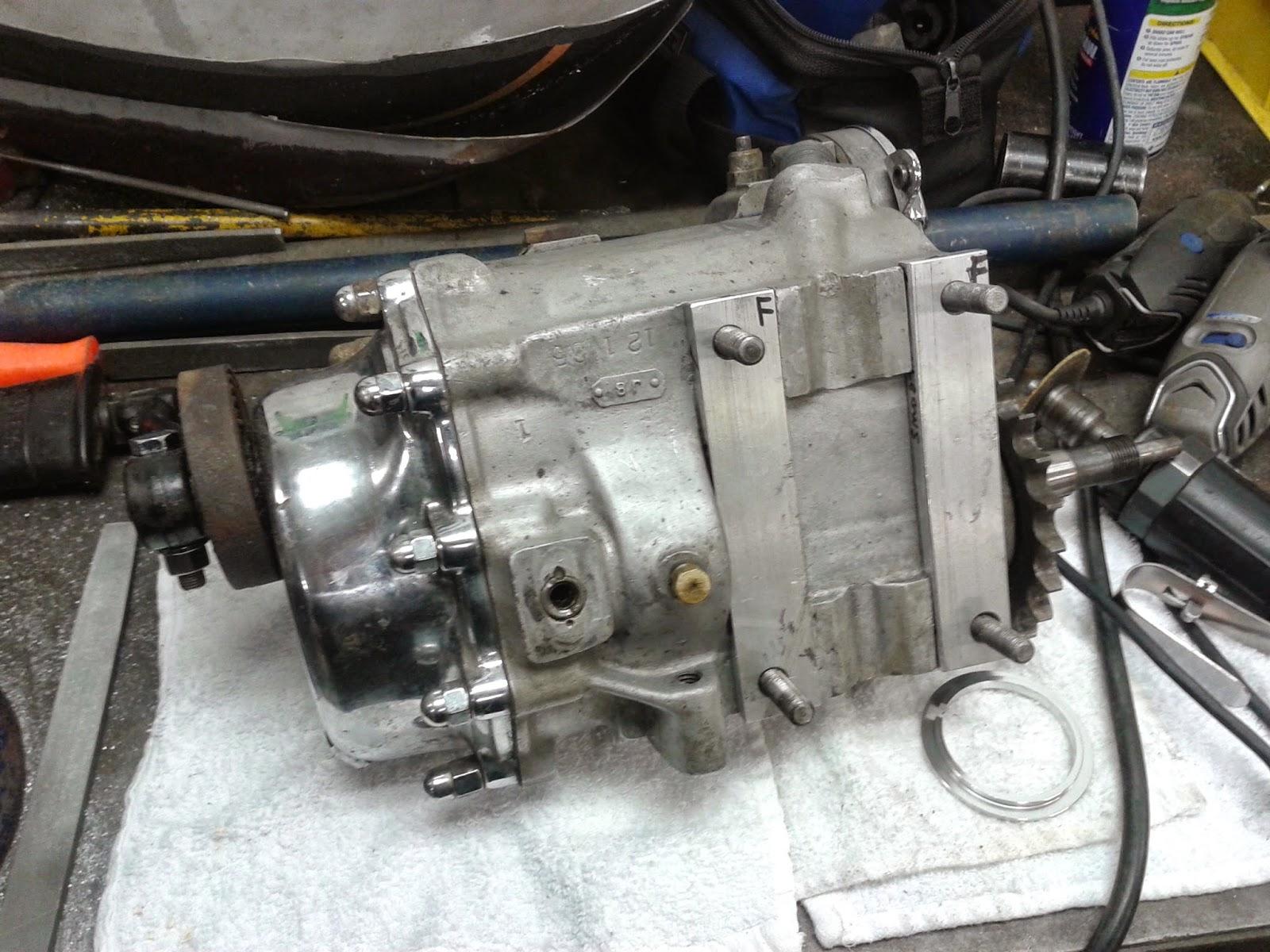 Harley Davidson Transmission: GANGSTER CHOPPERS: 1948 Harley Davidson 4 Speed Transmission