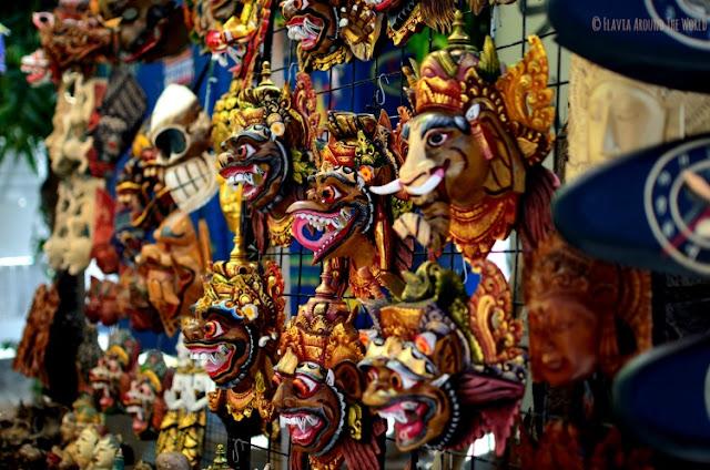Máscaras Bali Ubud