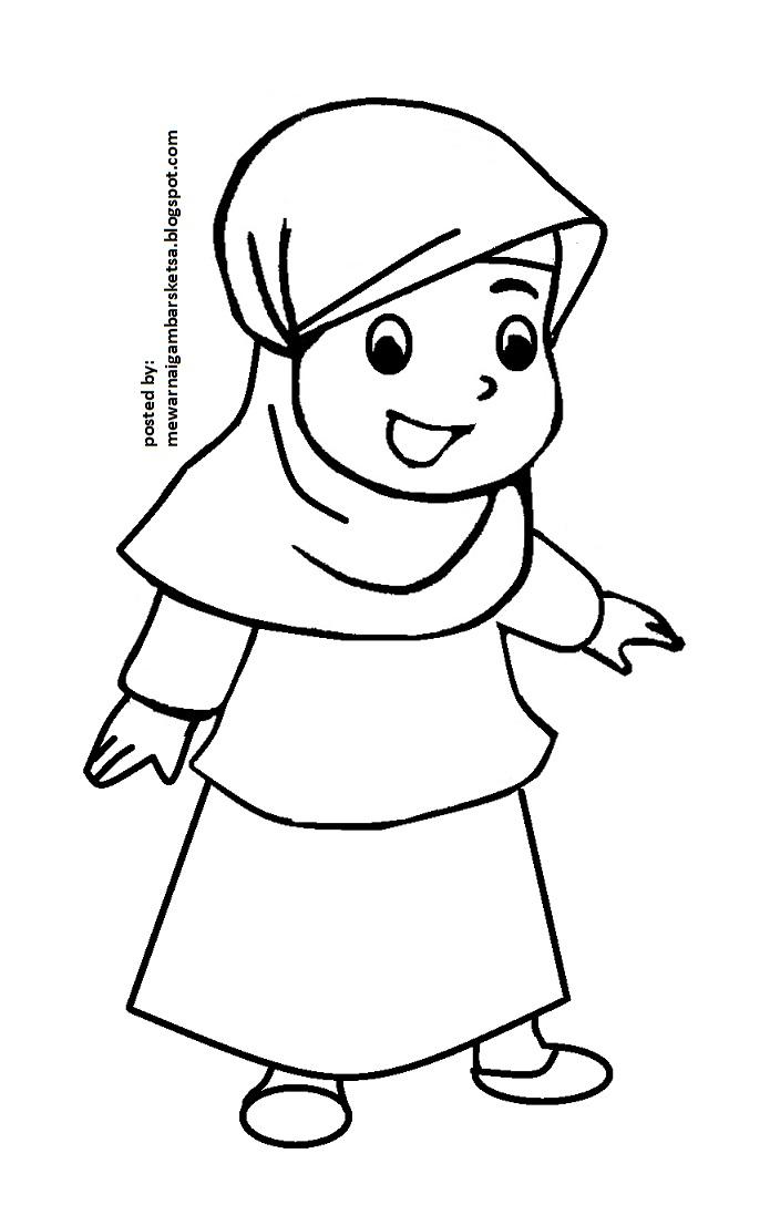 masjid drawing coloring pages