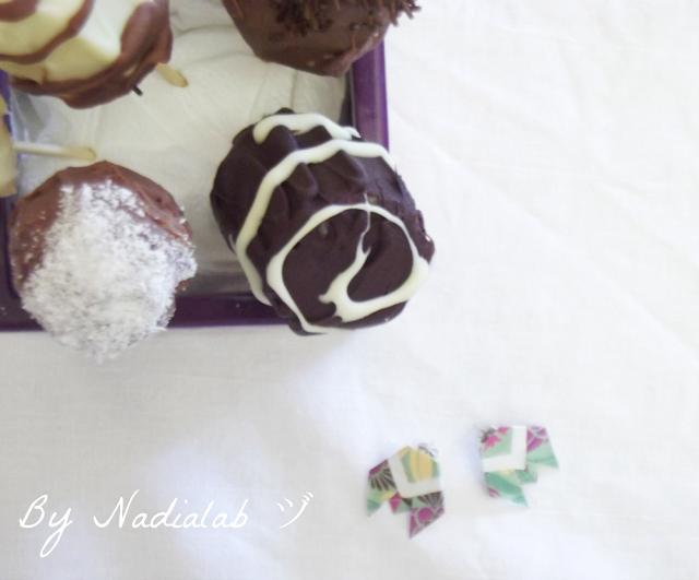 frutta cioccolato e origami