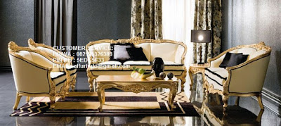 jual mebel klasik eropa mewah sofa klasik eropa mewah gold leaf