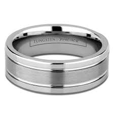 Men Tungsten Wedding Rings