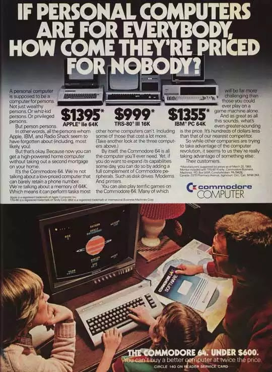 Old days' Computer Advertisements 24