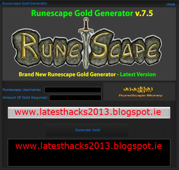 Download Runescape Hacking program