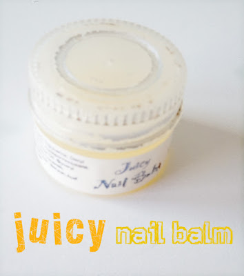 review Juicy nail balm