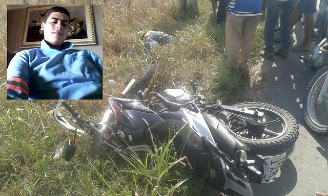 Jovem Limoeirense morre em acidente de Moto entre Limoeiro e Passira