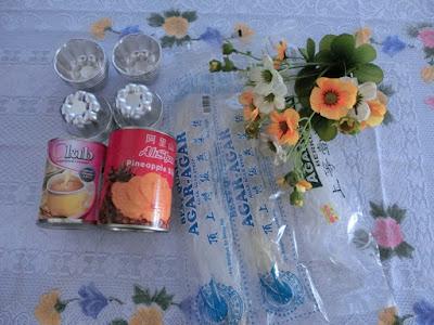 resepi agar-agar nenas yang senang dan sedap dimakan
