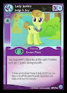 My Little Pony Lady Justice, Judge & Jury Premiere CCG Card