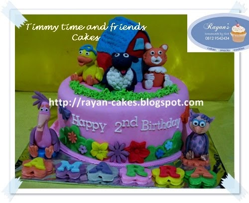 Rayan Cakes Timmy Time And Friends Cakes