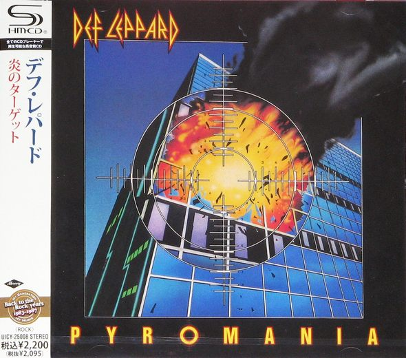 DEF LEPPARD - Pyromania [Japan SHM-CD remastered] full