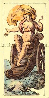 Tarot de Mitelli: El Carro
