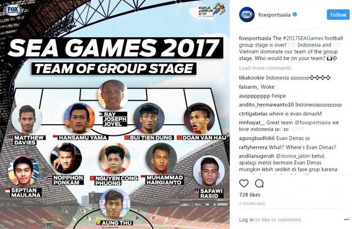 Mantap! Pemain Indonesia Dominasi Susunan Tim Terbaik Versi Fox Sport Asia, Siapa Saja?