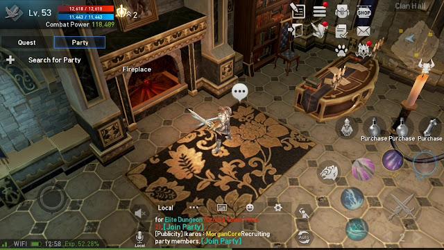 Tingkatkan Exp Menggunakan Fitur Fireplace Clan di Lineage 2 Revolution Indonesia